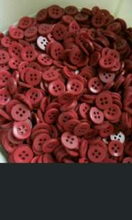 DIY Red buttons