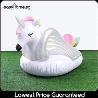 NEW Rainbow Horse- Adult Inflatable Giant Float Swimming Pool Party