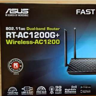 Asus Wireless Router AC1200 G+