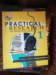 Practical Research 1 (FOR SENIOR HIGHSCHOOL)