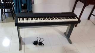 YAMAHA P70 : 88 Keys Digital Comtemporary Piano with L-70S Stand & Gater Case