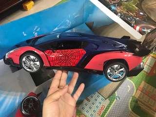 spiderman 遙控車 99新極少玩
