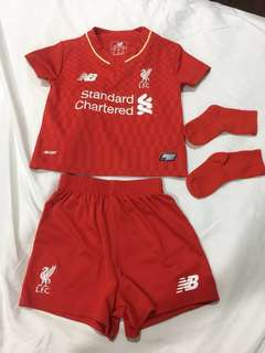 LFC Babies Jersey 12-18 Months Home Red Season 15/16
