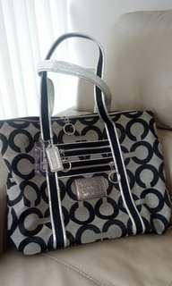 Coach tote bag.