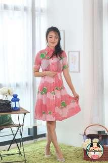 🍿 Vintage Midi Dress VD1311