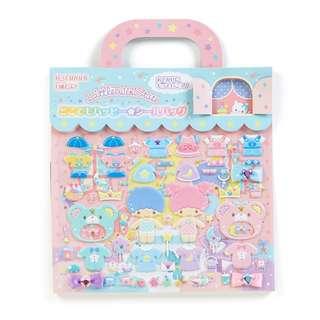 Japan Sanrio Little Twin Stars Seal Bag