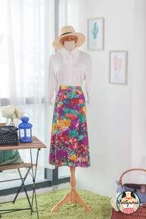 🍿 Vintage Midi Skirt VS1419