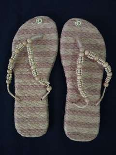Liliw made abaca slippers