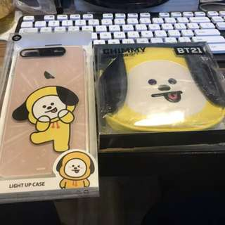 BT21 LIGHT UP IPHONE/SAMSUNG CASE OFFICIAL