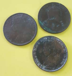 FOREIGN COINS USED IN THE MALAYA 3 in 1