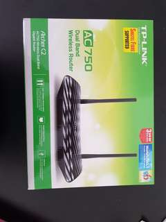 TPlink AC750 Dual Band Wireless Router