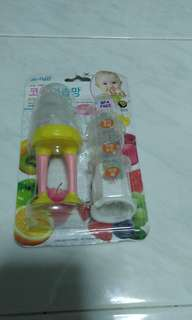 Brand new Ange kobi fruit teether from korea