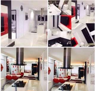 Condo style Reno hdb masterbedroom at Ang Mo Kio for rent