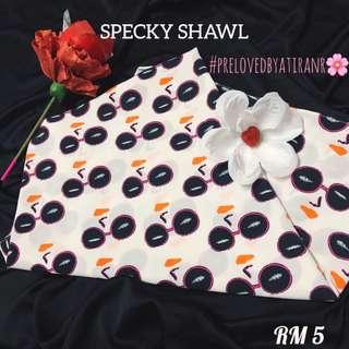Specky shawl