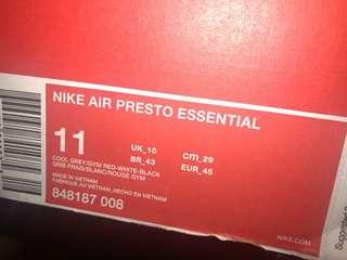 Nike prestos blue