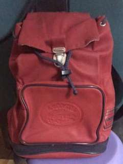 AUTHENTIC LACOSTE backpack
