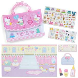 Japan Sanrio Hello Kitty Seal Set DX