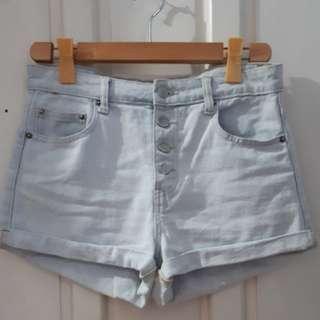 Forever21 HW Denim Shorts