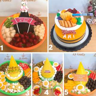 Puding Tumpeng