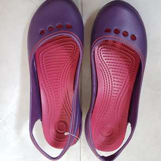New Purple Flip Flops