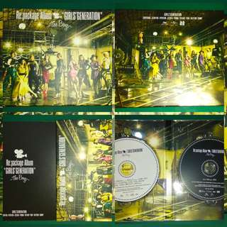 Girls' Generation The Boys Repackage Album CD DVDJapan Press