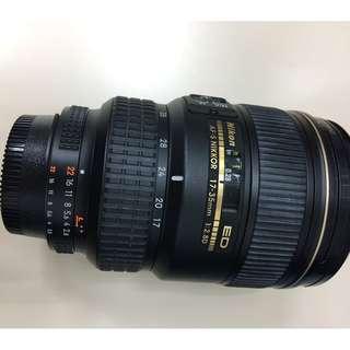 Nikon AF-S 17-35mm f/2.8D IF-ED 鏡頭