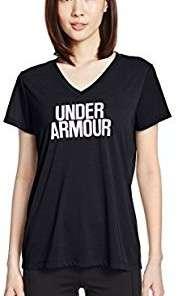 UA Women's Threadborne Train Wordmark Shirt - Large