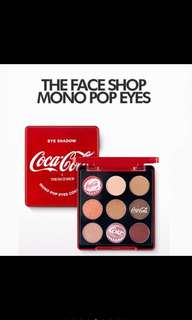 The face shop X coca cola