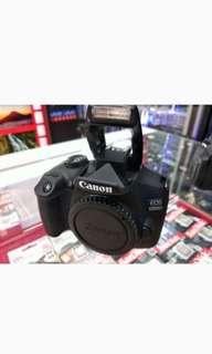 Camera Canon eos 1300D bisa di cicil proses cepat