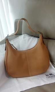Coach leather handbag.