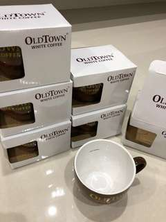 Old Town White Coffee Mug 4 Qty available