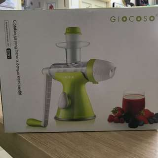 Ice cream makers and juicer