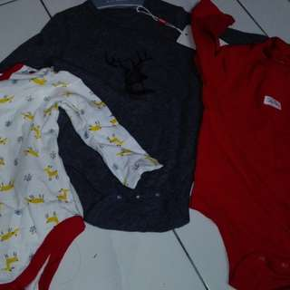 Baju baby boy new poney