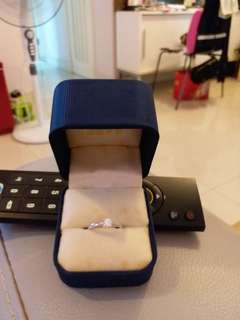 鑽石戒指  25份  13圈