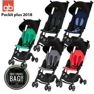 Pockit plus stroller 2018