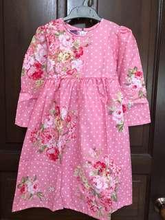 Floral dresses for little girls