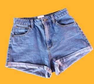 Vinatge high waisted shorts