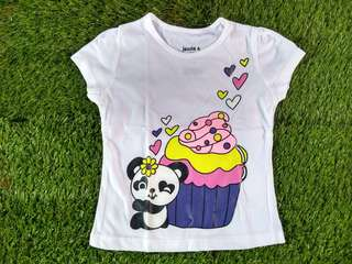 Cup Cake White T-Shirt