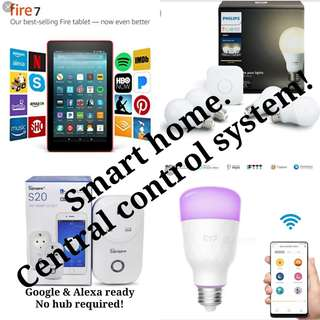 Fire 7 Tablet Smart home central control System