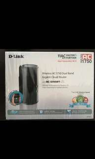 D-Link Wireless Router AC1750 Dual Band