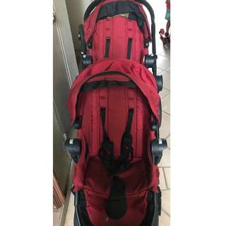Selling double stroller (City Select)