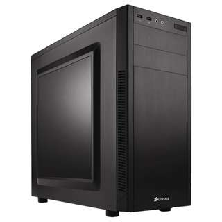 Corsair Carbide Series 100R Mid-Tower Case - Black - SKU: CC-9011075-WW