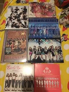 少女時代專輯 少時 girls generation 日版 韓版 CD 7隻