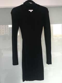 Kookai Black knit dress