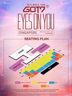 LF GOT7 VIP TICKET