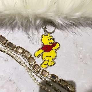贈送-正版小熊維尼壓克力鑰匙圈
