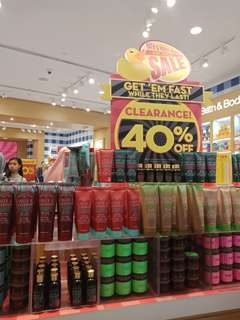 50% BATH AND BODY WORKS PERSONAL SHOPPER