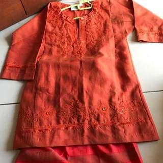 Baju kurung for kids