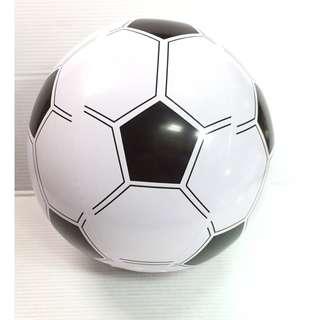 🚚 「韓國帶回」西瓜球 足球 充氣球 沙灘球 玩具球 26公分 塑膠球 造型球 足球賽 足球運動 夏天 玩水 必備