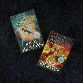 The Trials of Apollo Series by Rick Riordan